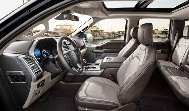 Ford F150 King Ranch >> See More Clearly 2021 Ford F 150 Limited Interior Is Very Luxurious